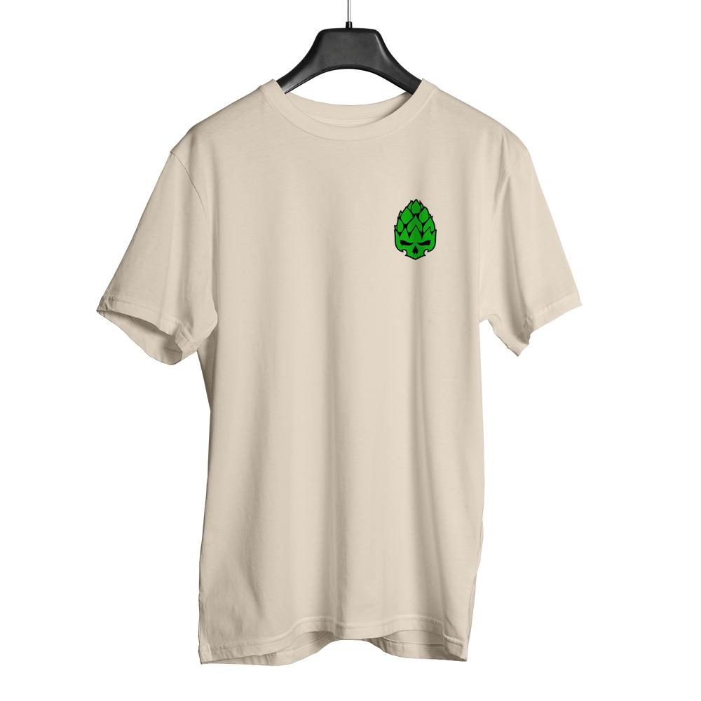 Camiseta Hopskull Basic Bege