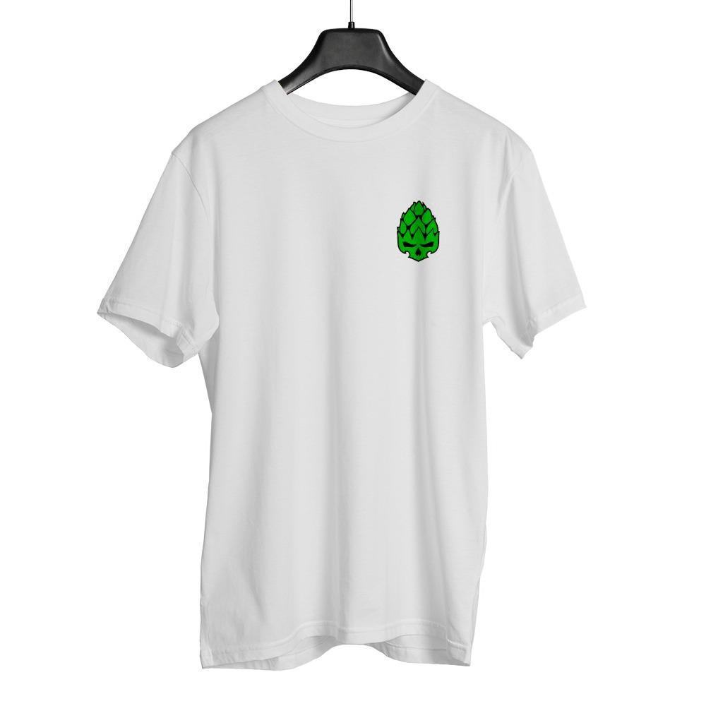 Camiseta Hopskull Basic Branca