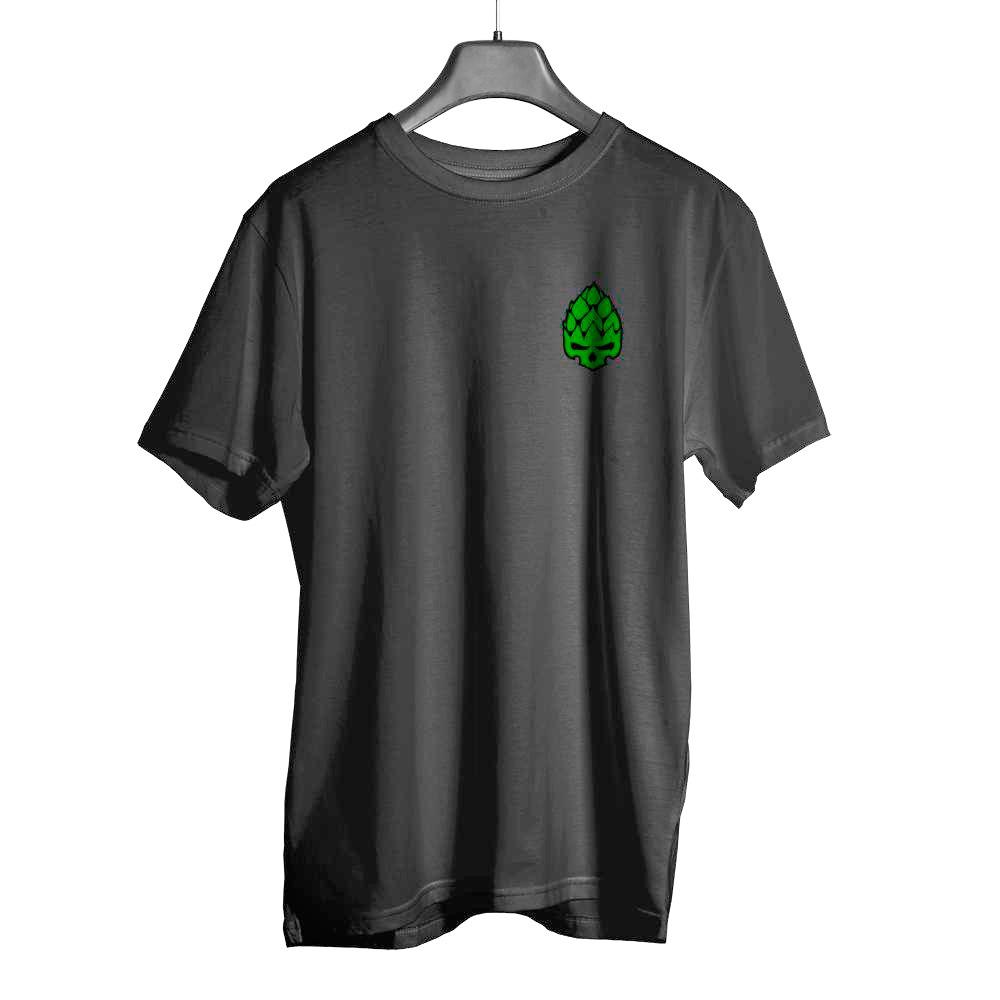 Camiseta Hopskull Basic Preta Estonada