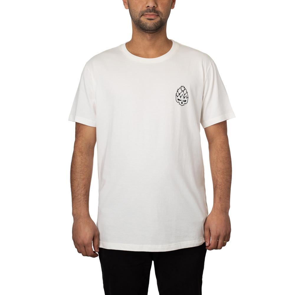 Camiseta Hopskull Contorno Off White