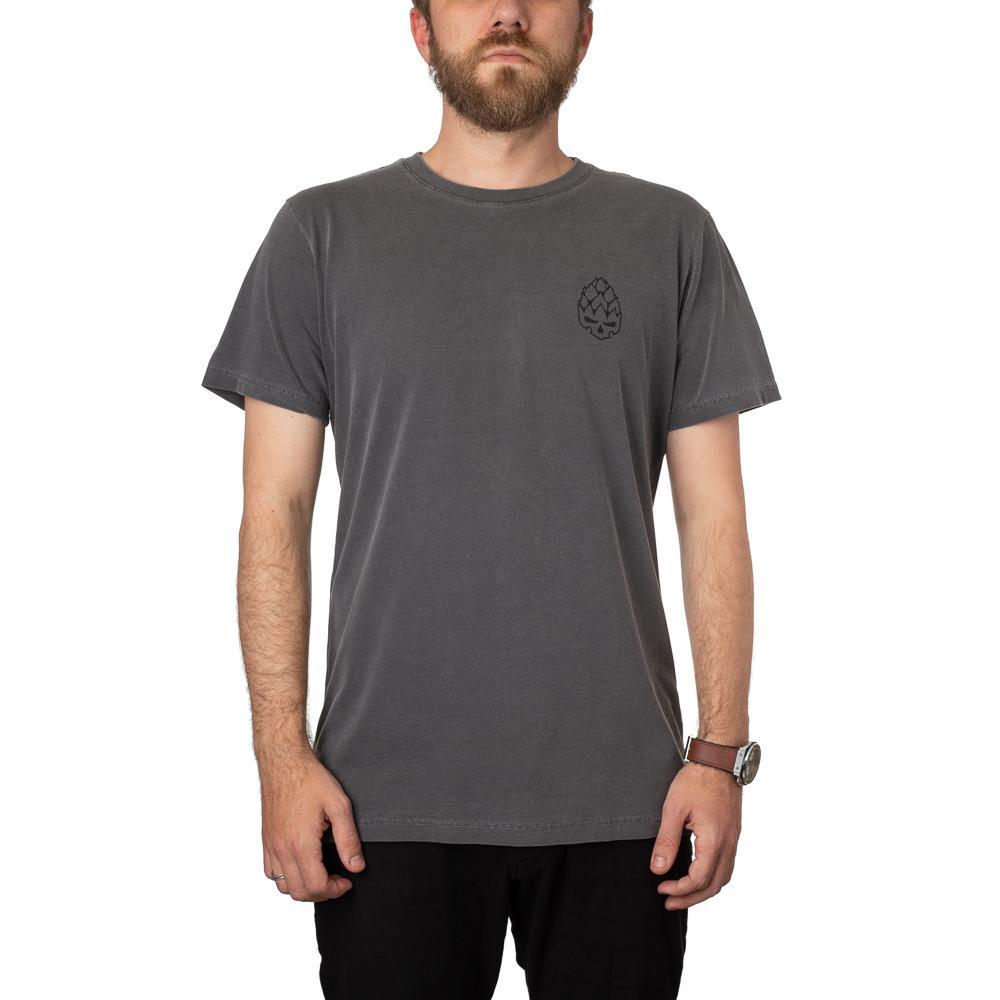 Camiseta Hopskull Contorno Preta Estonada