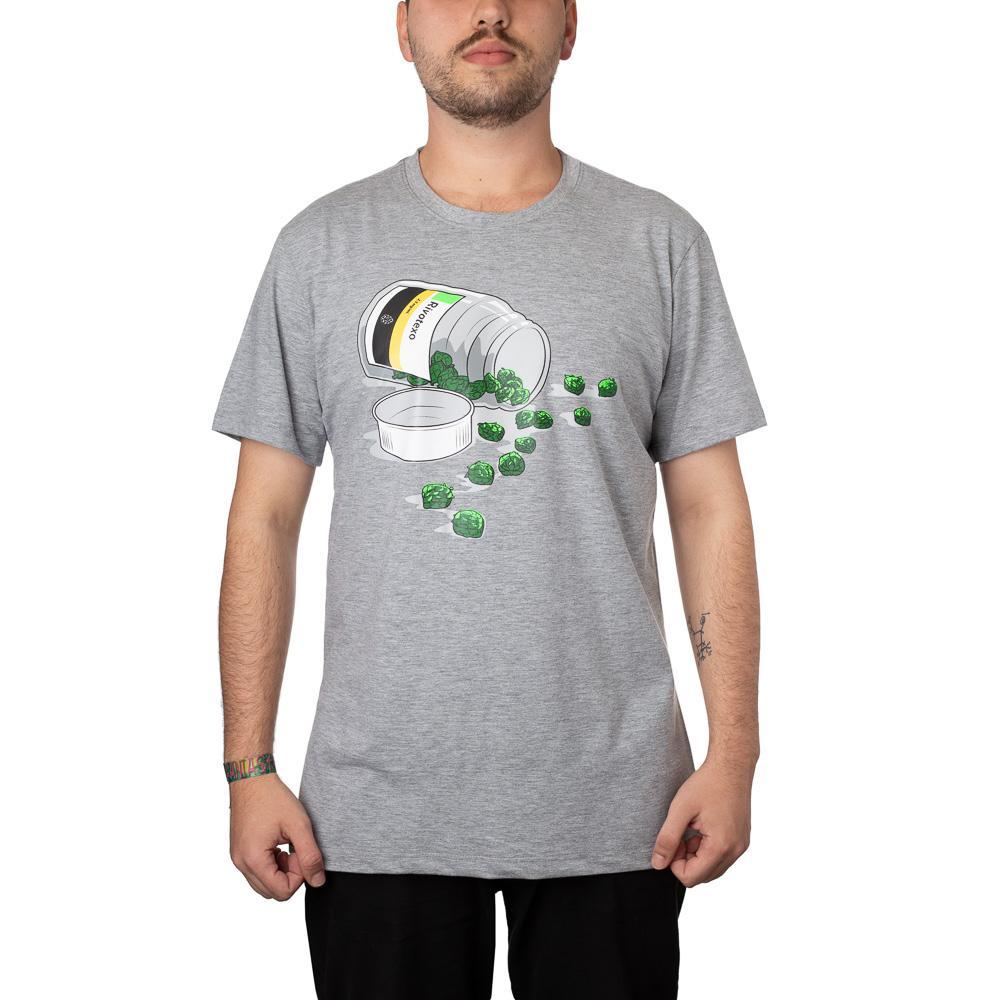 Camiseta Rivotexo Cinza Mescla + Pôster
