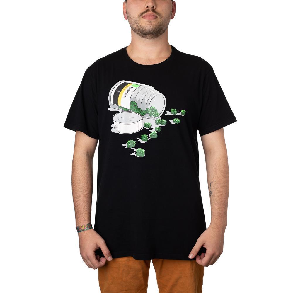 Camiseta Rivotexo Preta + Pôster
