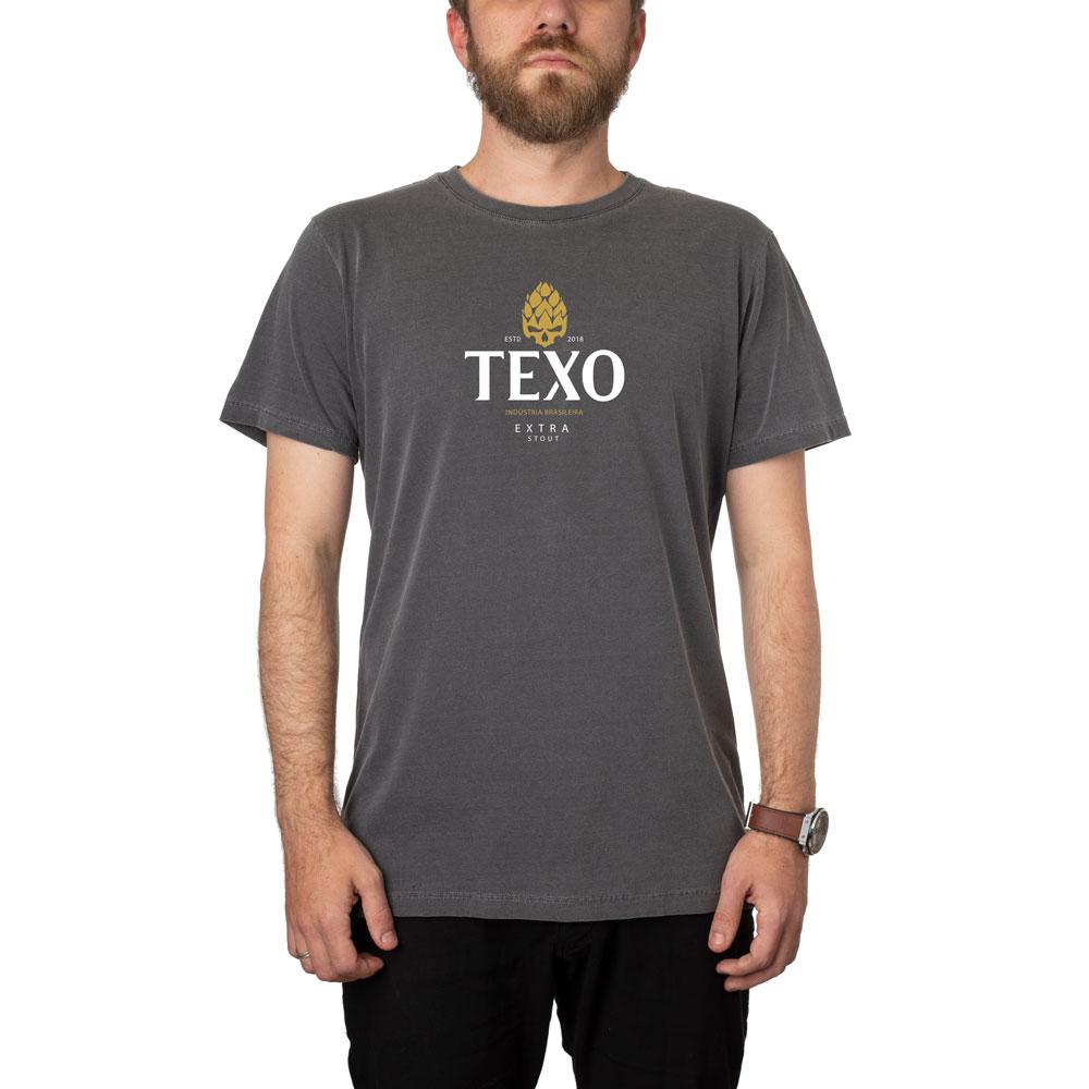 Camiseta Texiness Preta Estonada