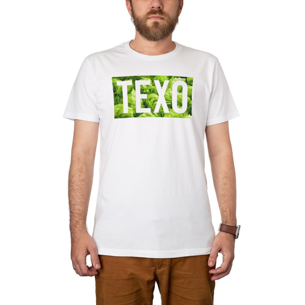 Camiseta Texo Lúpulo Branca