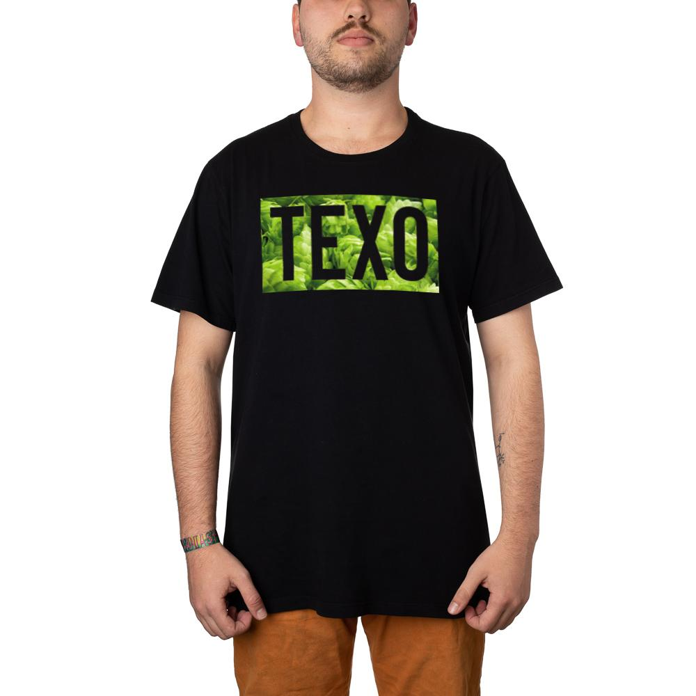 Camiseta Texo Lúpulo Preta
