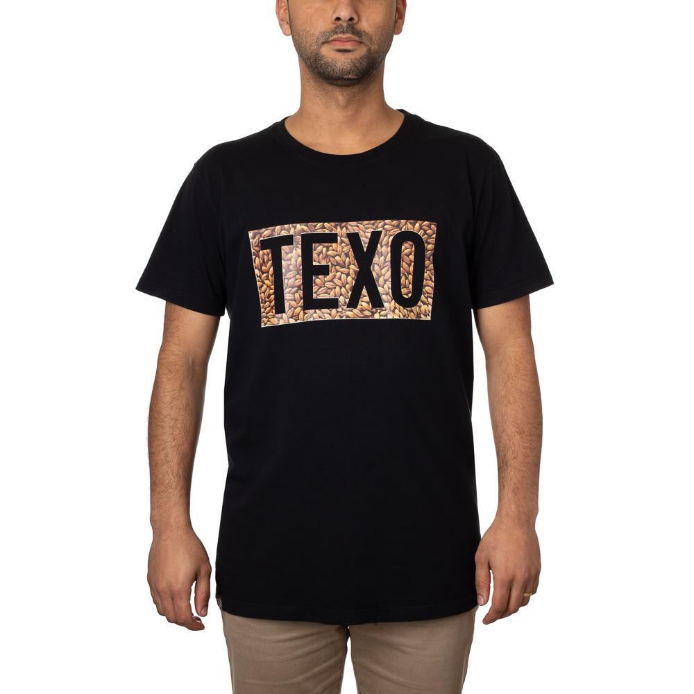 Camiseta Texo Malte Preta