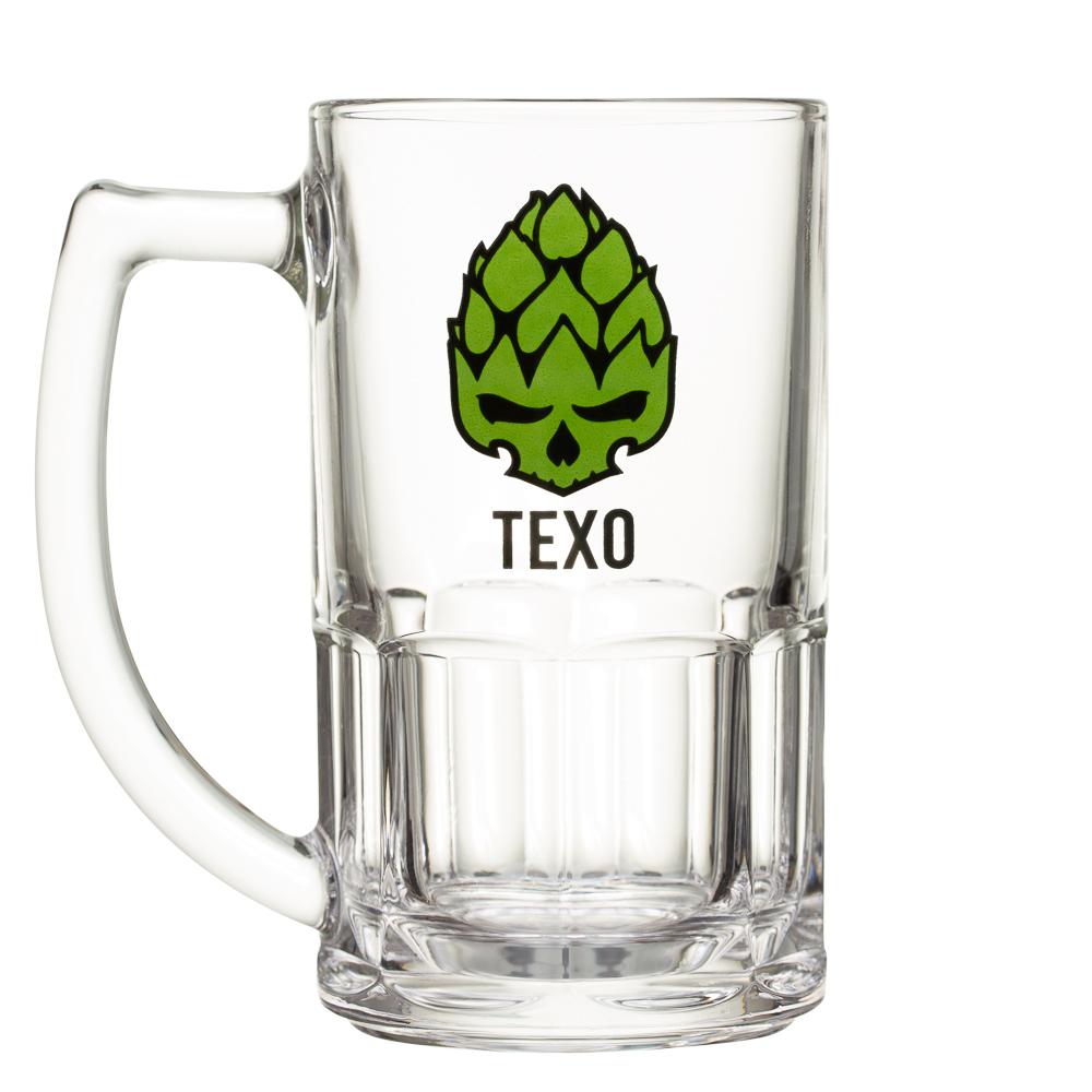 Caneca em Vidro 340ml - Exclusivo Texo