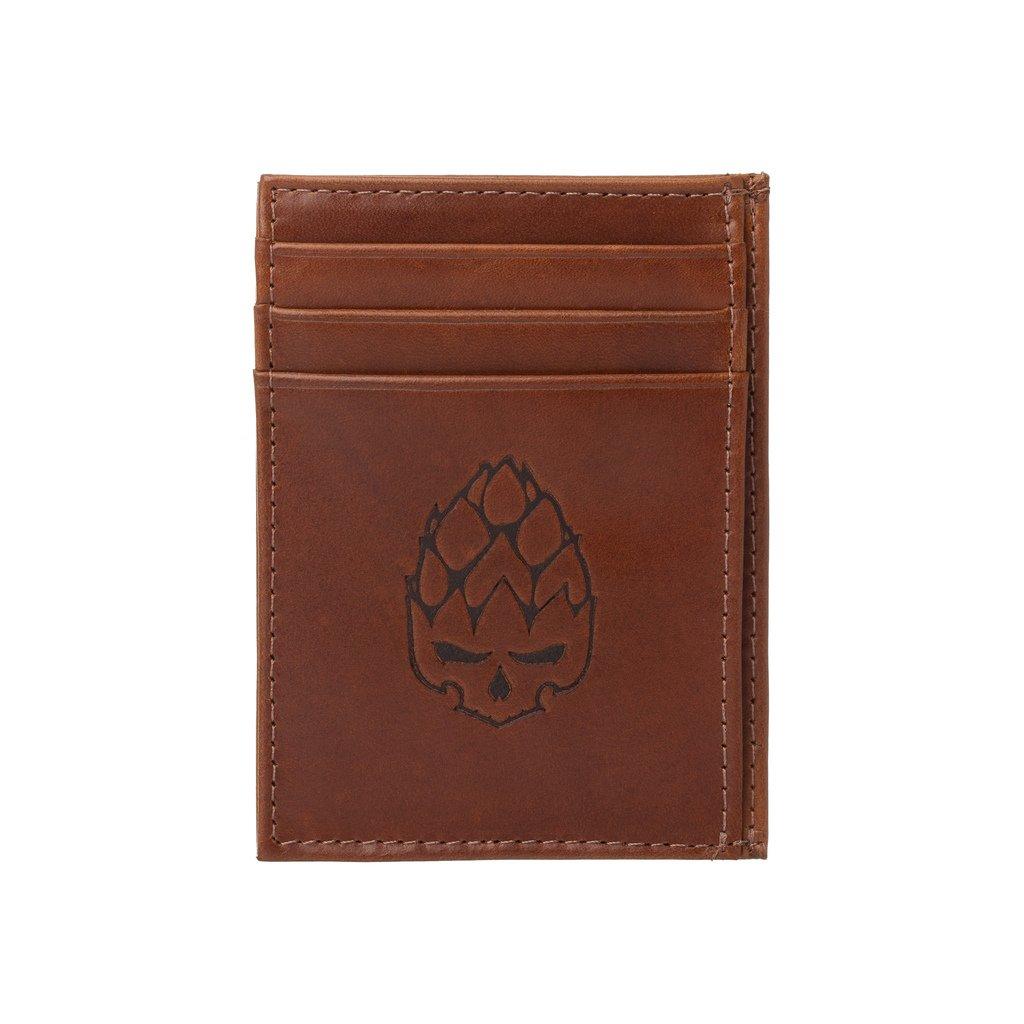 Carteira Porta Cartão Compact em Couro Legítimo Marrom