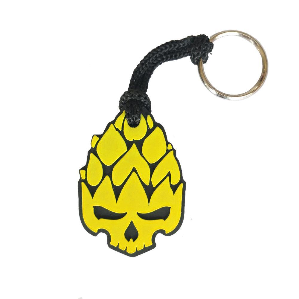 Chaveiro Hopskull Amarelo