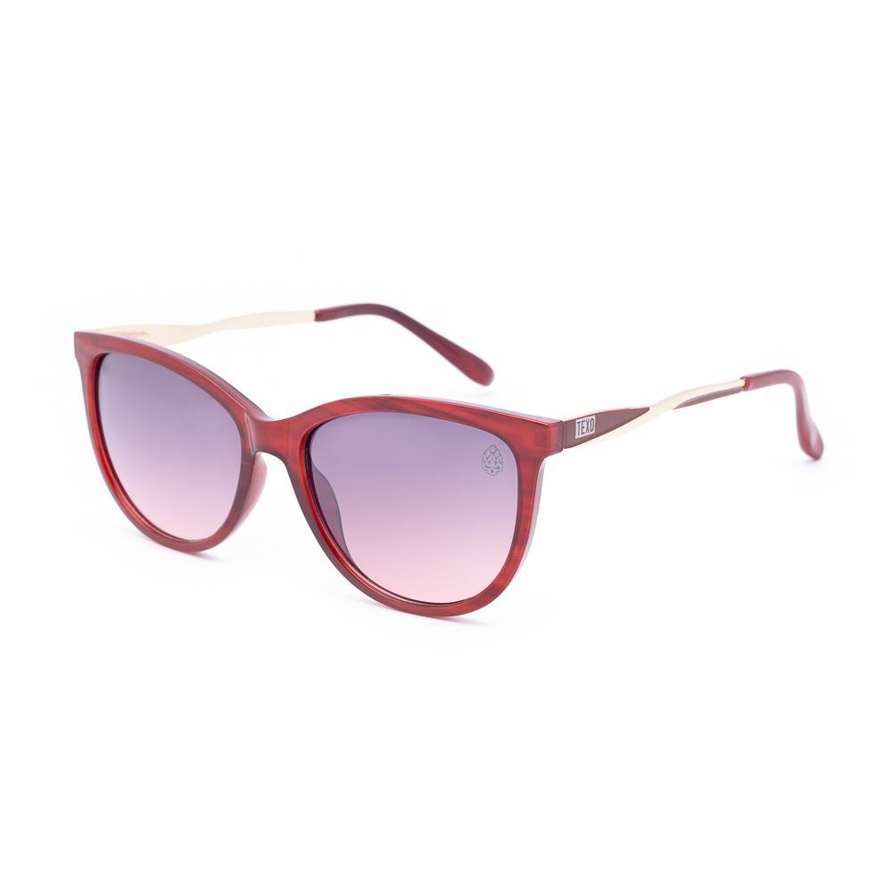 Óculos de Sol Feminino Gatinho Kriek Bordô