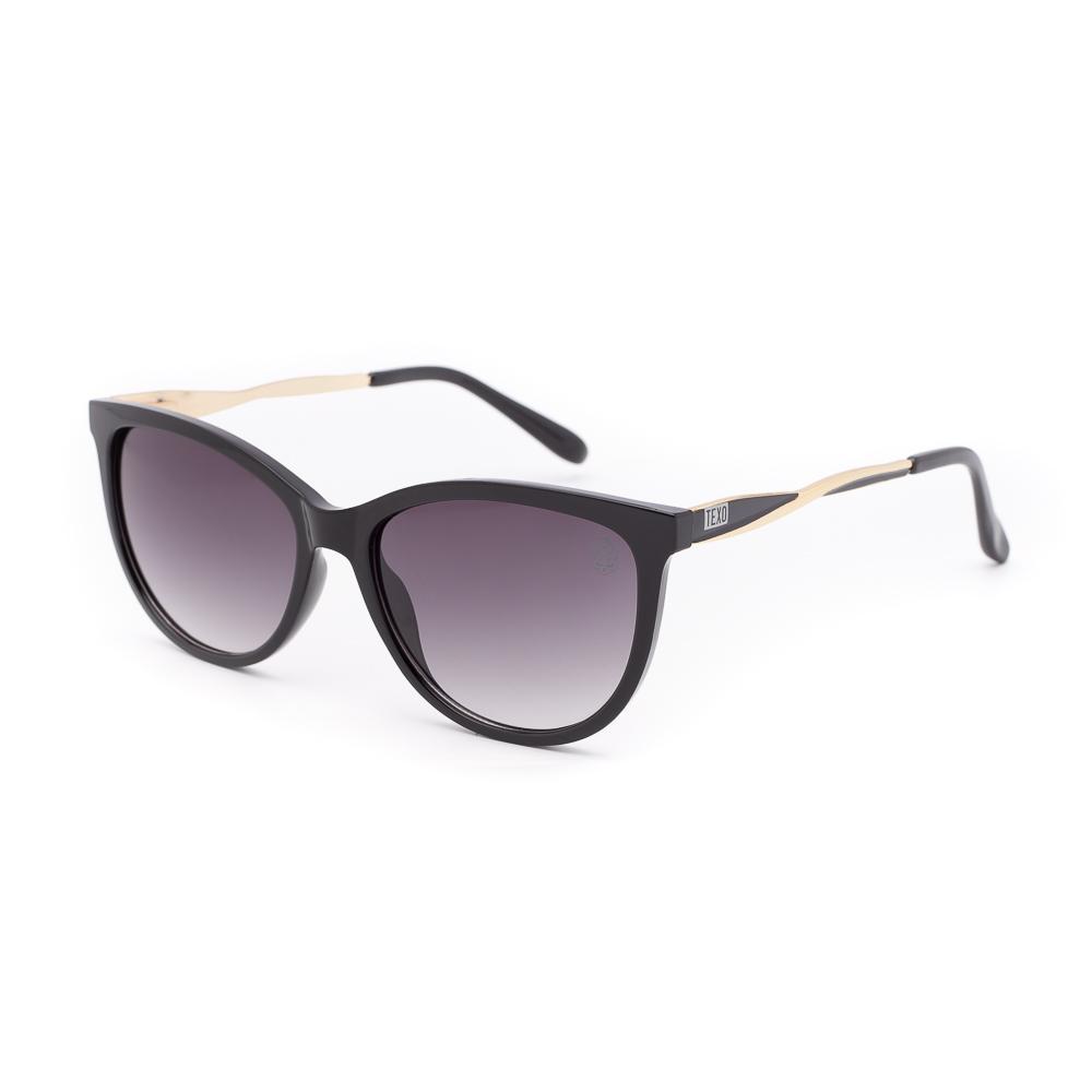 Óculos de Sol Feminino Gatinho Kriek Preto