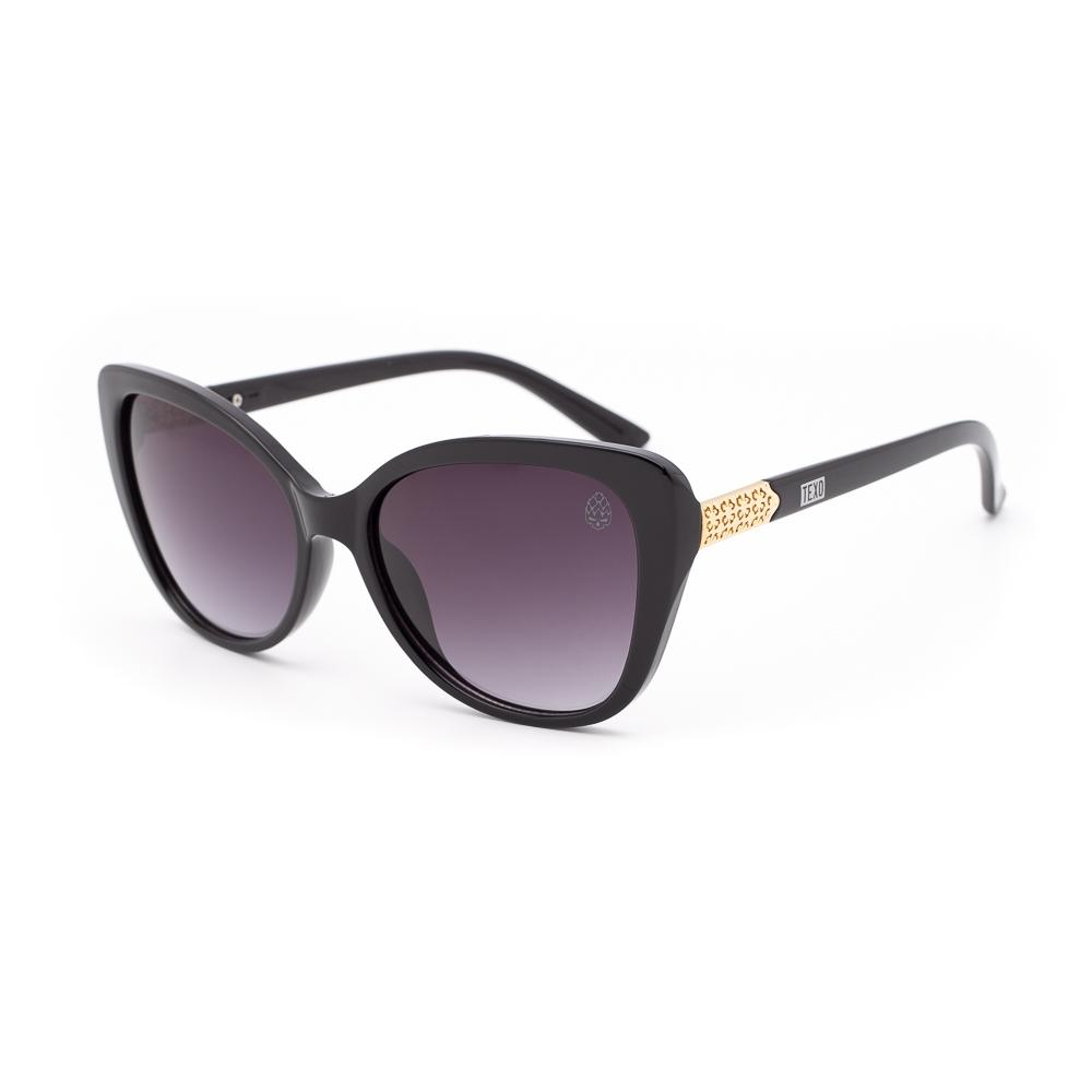 Óculos de Sol Feminino Gatinho Veltins Preto