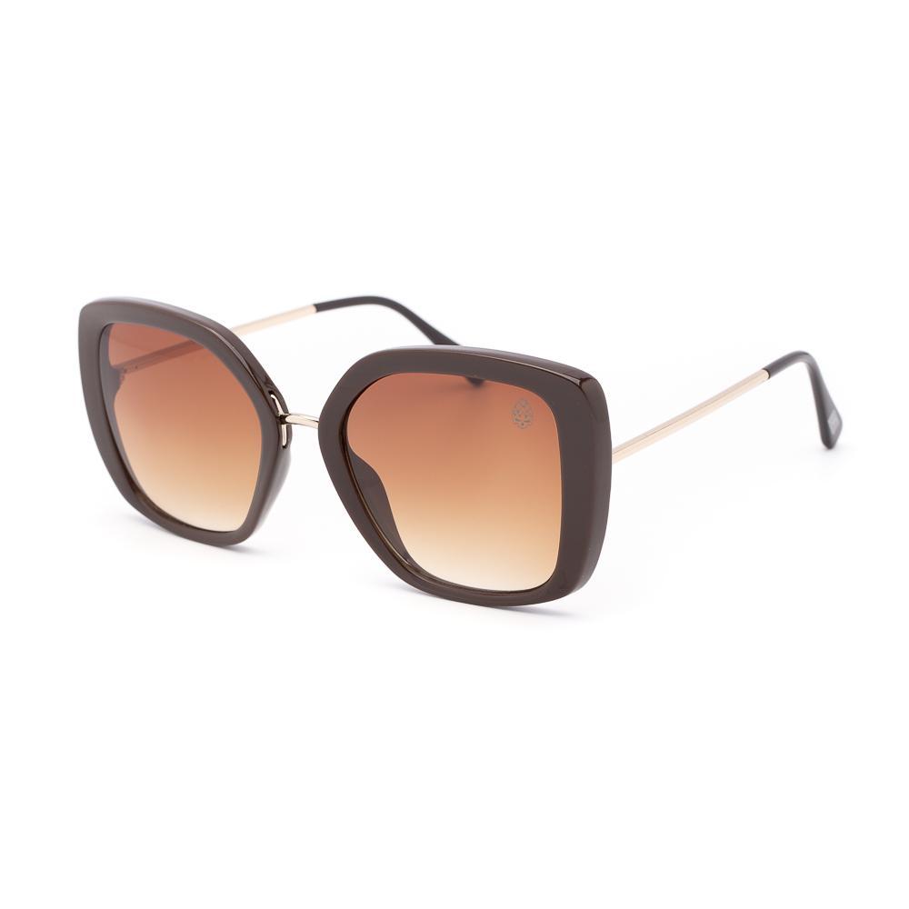 Óculos de Sol Feminino Quadrado Affligem Marrom