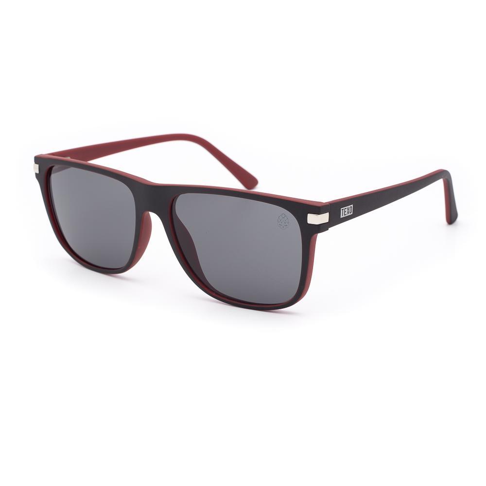 Óculos de Sol Masculino Aver Preto e Vermelho