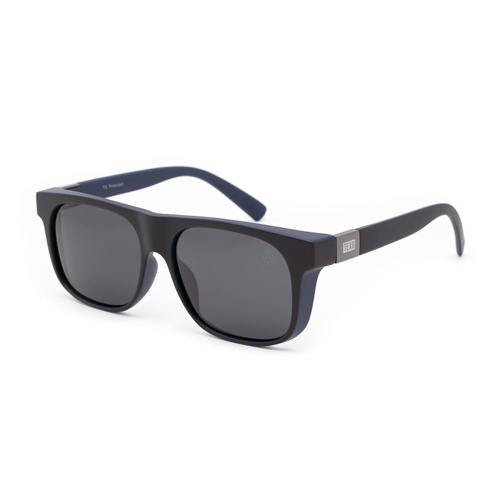 Óculos de Sol Masculino Brut Preto e Azul Polarizado