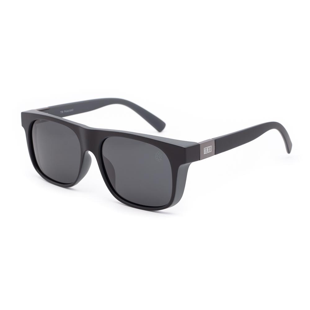 Óculos de Sol Masculino Brut Preto e Cinza Polarizado
