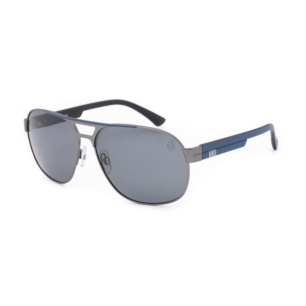 Óculos de Sol Masculino Harp Cinza e Azul Polarizado