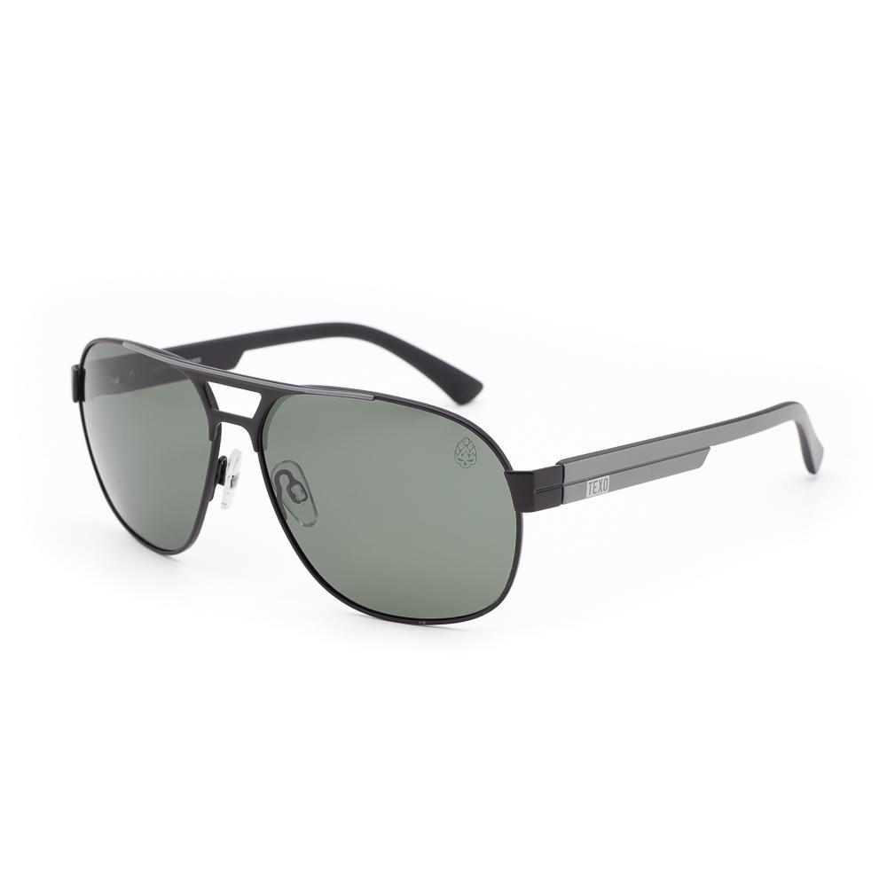 Óculos de Sol Masculino Harp Preto e Cinza