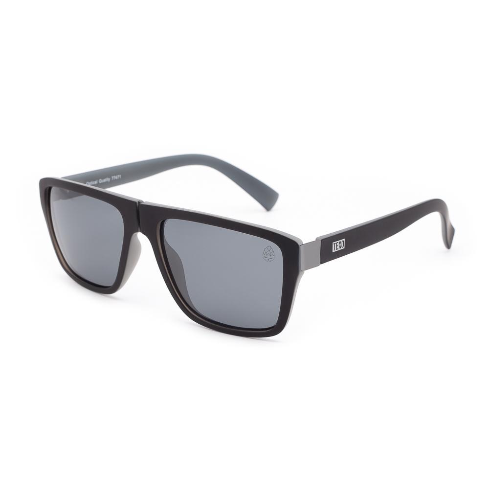 Óculos de Sol Masculino Warsteiner Preto e Cinza
