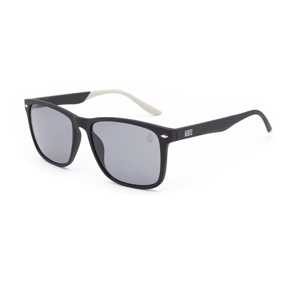 Óculos de Sol Masculino Waterloo Preto e Branco