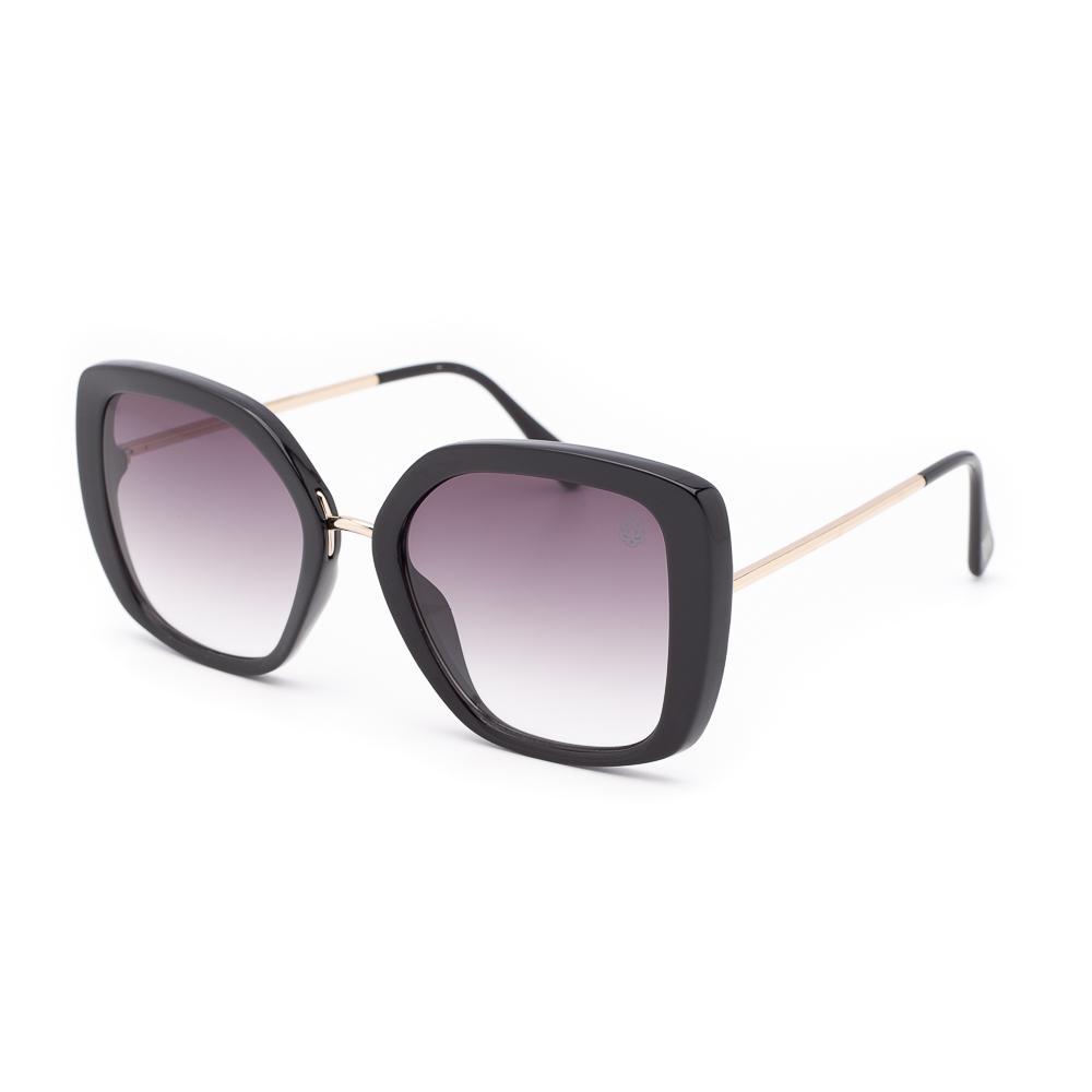 Óculos de Sol Texo Feminino Quadrado Affligem Preto