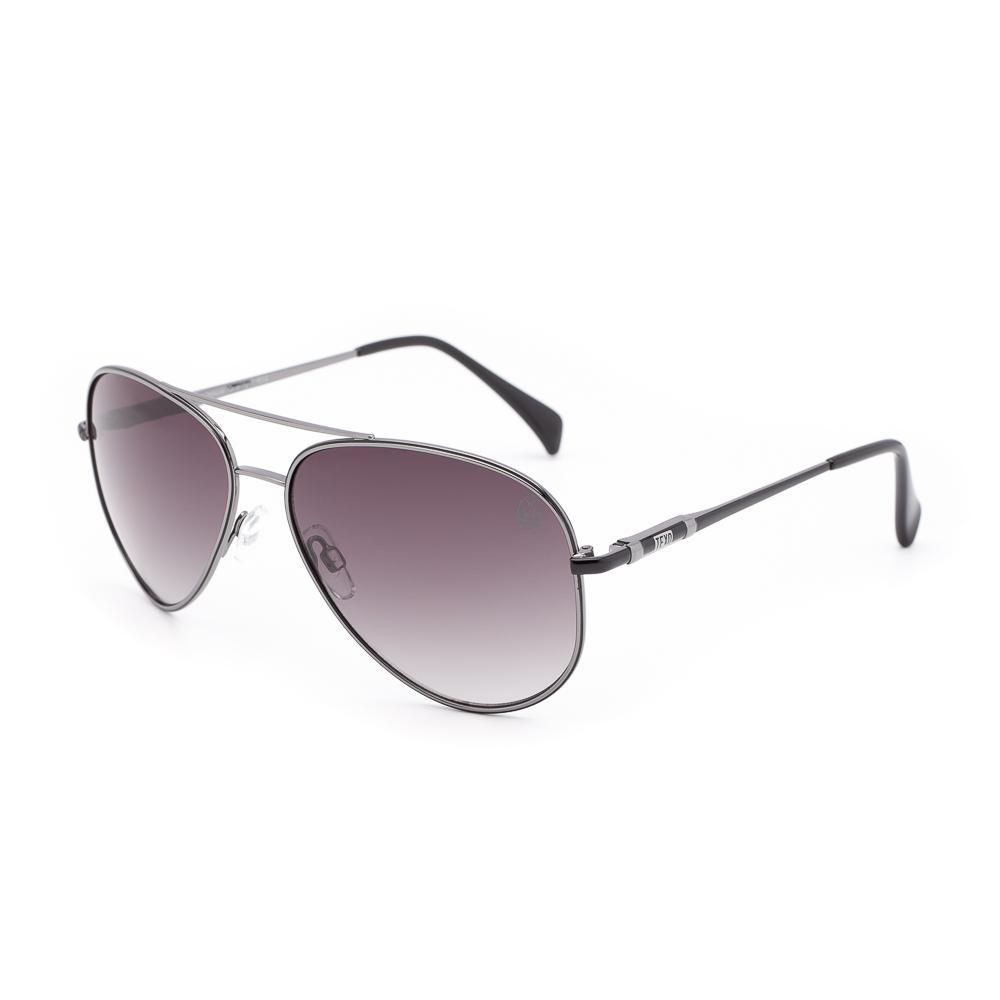 Óculos de Sol Unissex Aviador Cuvée Grafite e Preto