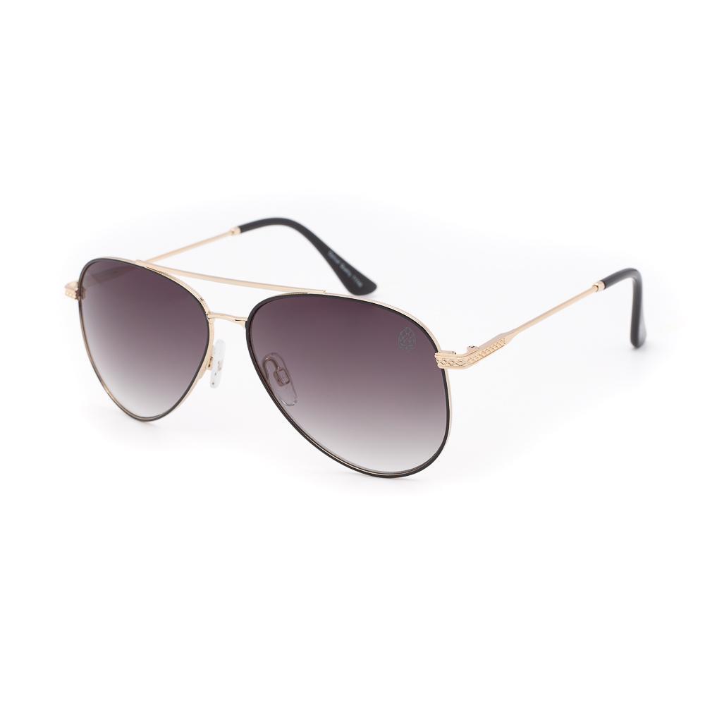 Óculos de Sol Unissex Aviador La Trappe Dourado