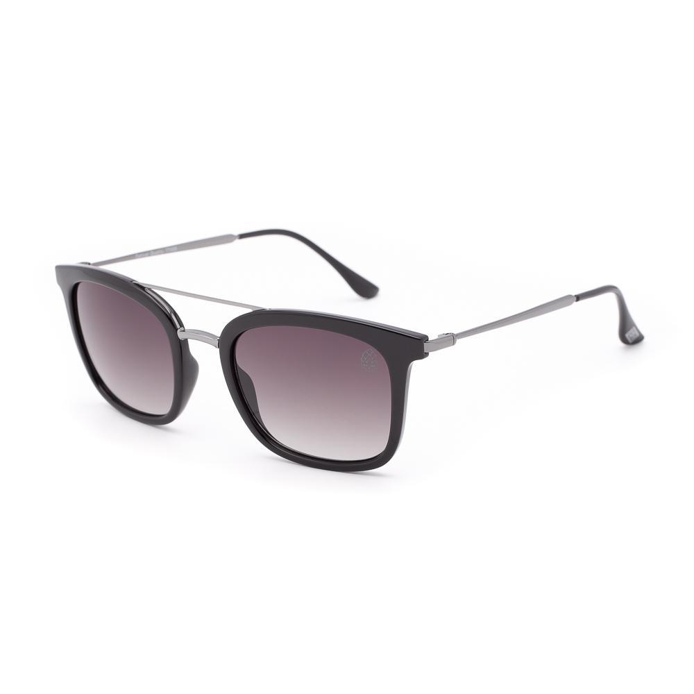 Óculos de Sol Unissex Quadrado Leffe Preto