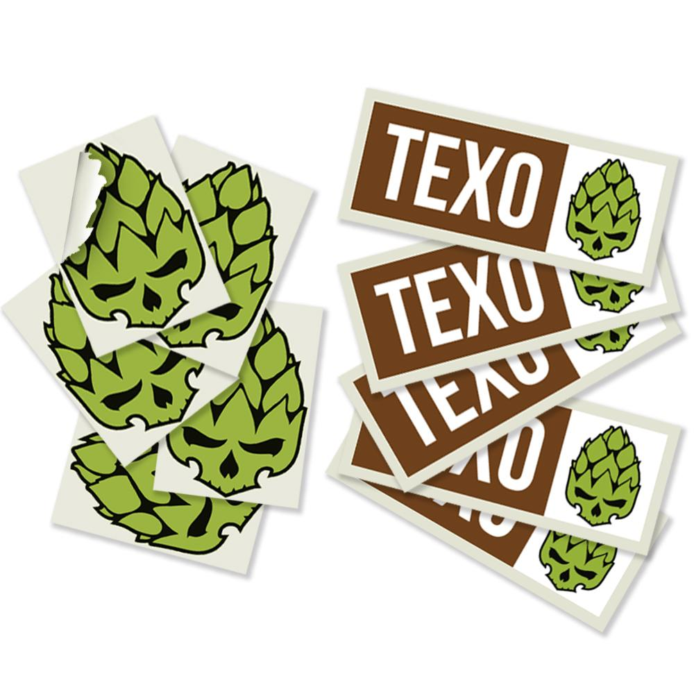 Pack stickers Texo