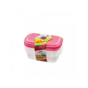 Conjunto Pote San Remo Leve 4 Pague 3 480 ml  cada cor: rose com transparente