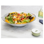 Saladeira de Vidro Redonda linha Gourmet - Ruvolo