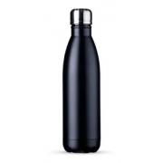 Garrafa Inox Street 750ml - Yazi - Disponível nas cores preto e cinza.