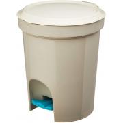 LIXEIRA C/PEDAL PLAST SANREMO 6,6L