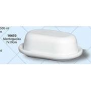 Mantegueira Oval Em Cerâmica Porto Seguro cor: Branco