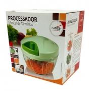 Mini Processador de Alimentos Triturador Cortador Manual
