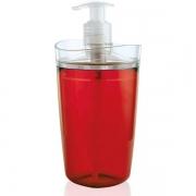 Porta Sabonete Líquido Tule OU cor: Vermelho Acrilico