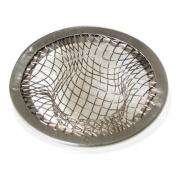 Ralo Para Pia E Lavatório De Aço Prata - Secalux