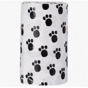 Refil Sacolinha para Cães - modelo patinhas - Chalesco