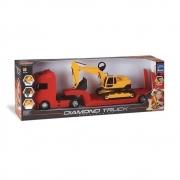 Diamond Truck Escavadeira - Roma Brinquedos