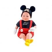 Roma Boneco Mickey Classic Dolls Recém Nascido