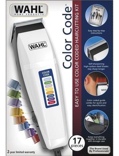 Maquina De Cortar Cabelo - Color Code - Wahl