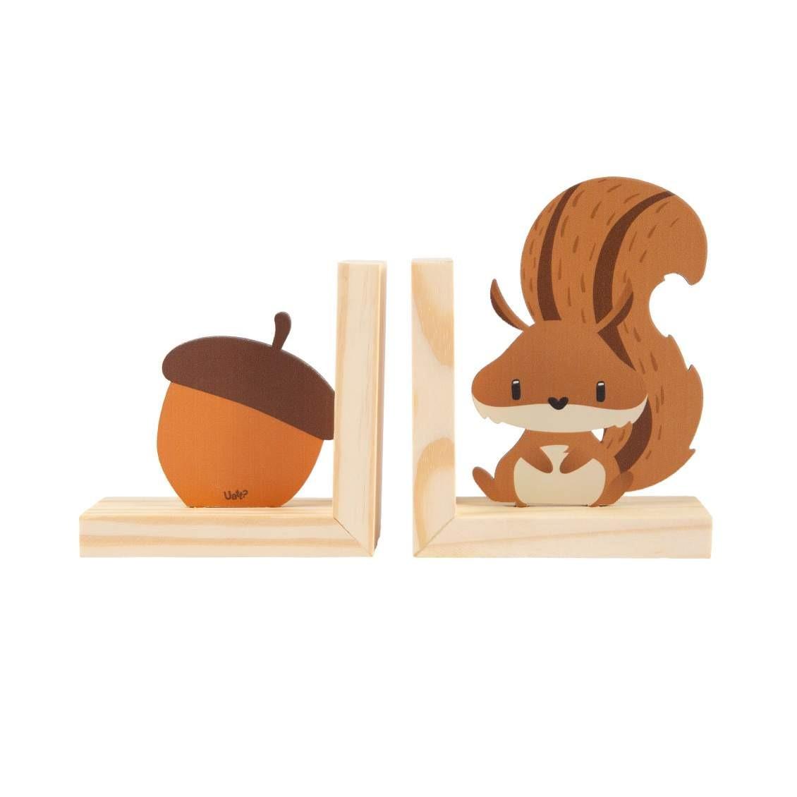 Aparador de Livros - Floresta/ Esquilo - Uatt?