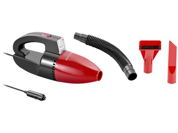 Aspirador de Pó e Água Multilaser Filtro HEPA 60W - AU607 Vermelho
