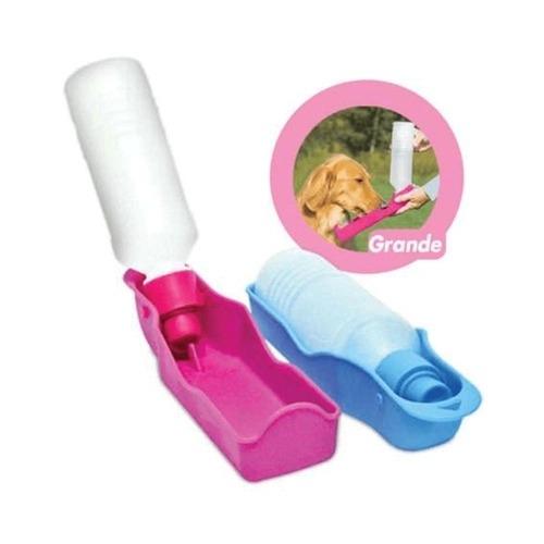 Bebedouro Portátil Para Cães Rosa e Azul - Chalesco