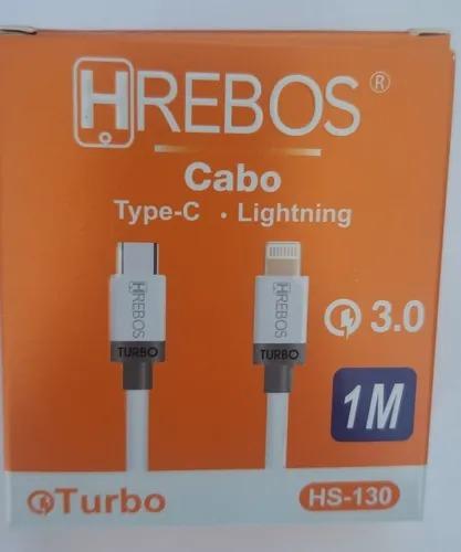 Cabo Tipo C  Hrebos para Iphone 3.0 Turbo