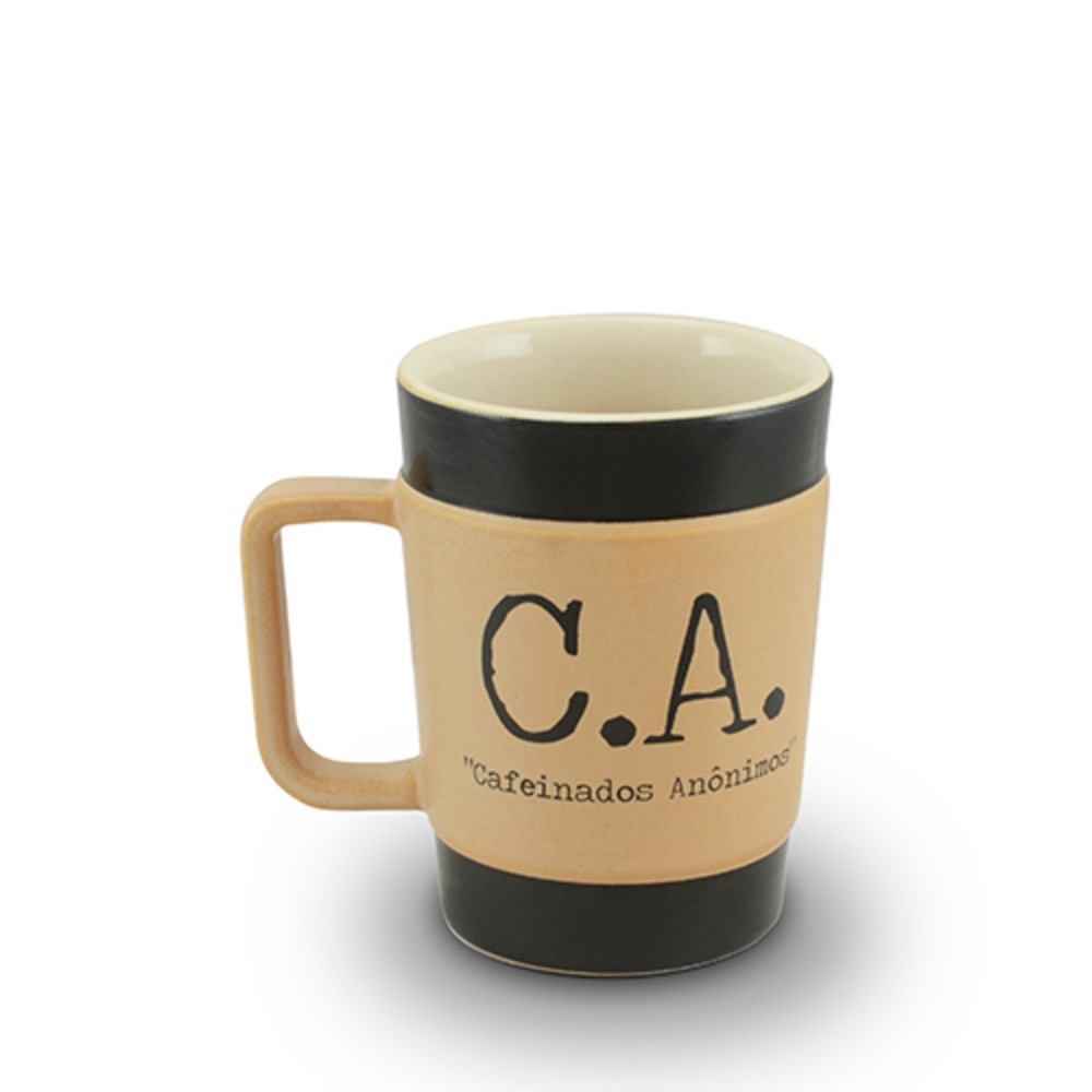 CANECA COFFEE TO GO 300ML PARDO FOSCO (C.A.)
