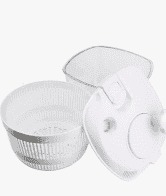 Centrifuga Seca Salada Plástica na cor Branca - 4,5 litros - Arthi