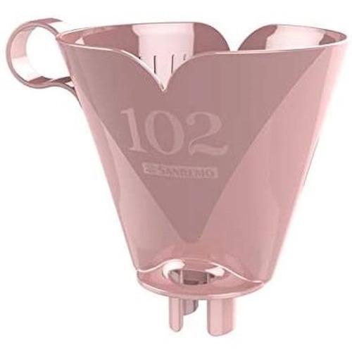 Bule Térmico com Porta Filtro 102 Rosa - Sanremo termic