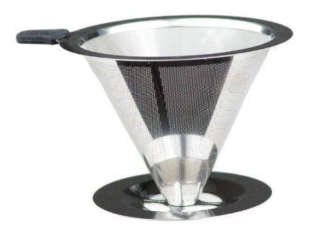 Coador Com Filtro Para Café Inox 9cm Unyhome